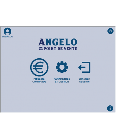 Logiciel de caisse NF525 Angelo Point de Vente