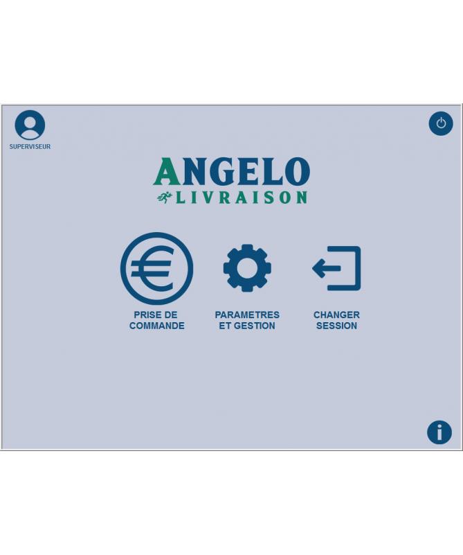 Logiciel de caisse NF525 Angelo Livraison à domicile