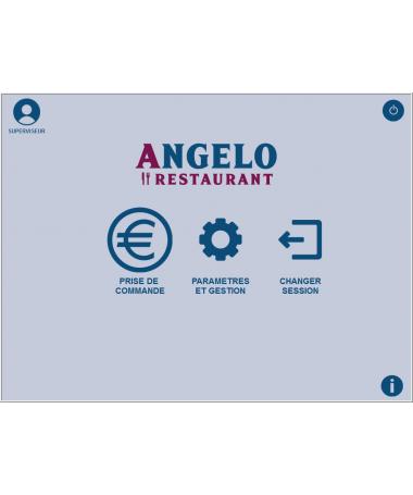 Logiciel de caisse NF525 Angelo Restauration traditionnelle, café, bar