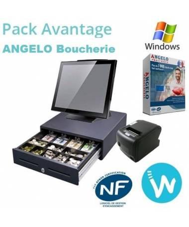 Pack caisse enregistreuse tactile Pack Avantage ANGELO BOUCHERIE