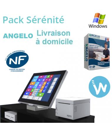 Pack caisse tactile Sérénité + Logiciel de caisse ANGELO Livraison