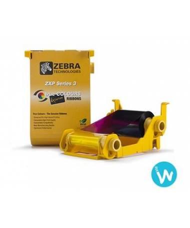 Ruban couleur pour ZXP3 Zebra