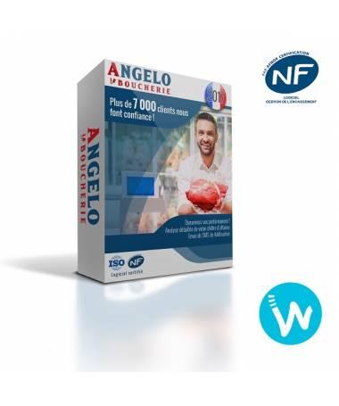 Logiciel de caisse NF525 Angelo Boucherie