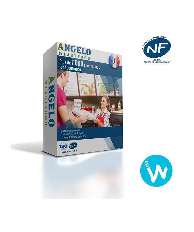 Logiciel de caisse NF525 Angelo Fast-Food
