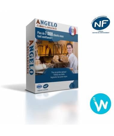 Logiciel de caisse NF525 Angelo Boulangerie