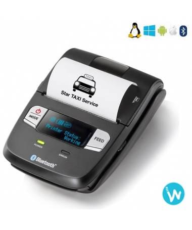 Imprimante portable SM-L200 - Imprimante mobile d'étiquettes et de reçus économique Bluetooth 58 mm, Bluetooth 4.0