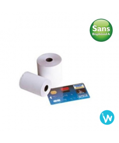 50 coils thermal paper 57 X 40 without bisphenol A