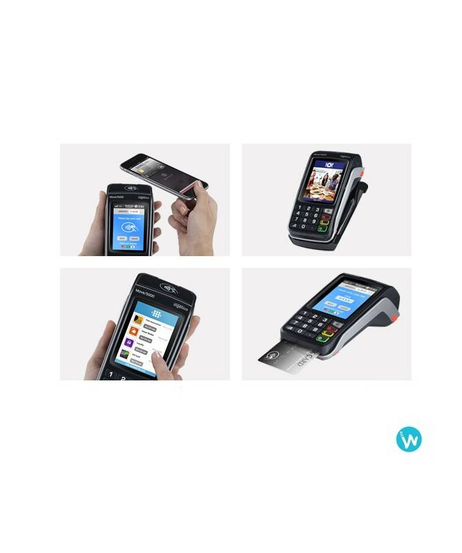 MOVE 5000 3G - Terminal de paiement portable GPRS / 3G