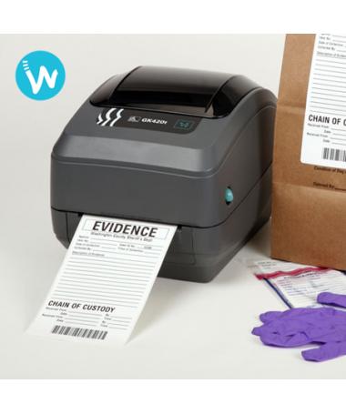 imprimante etiquettes Zebra GK420