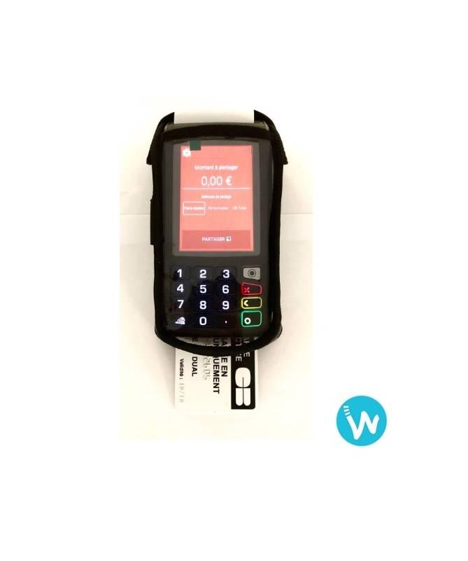 Housse de transport pour lecteur carte bancaire MOVE 5000 - Waapos
