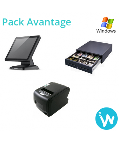 Pack caisse tactile Avantage i5 base Windows