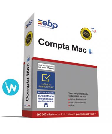 Logiciel de caisse EBP Compta 2020 pour Mac
