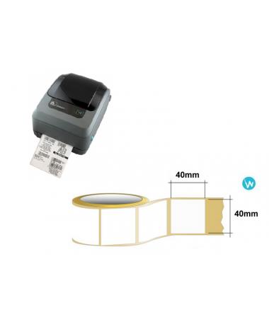 Étiquette antivol thermique RF