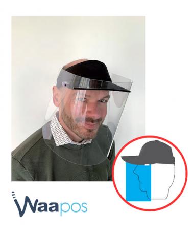 Visière de protection du visage: POS-T CapMask