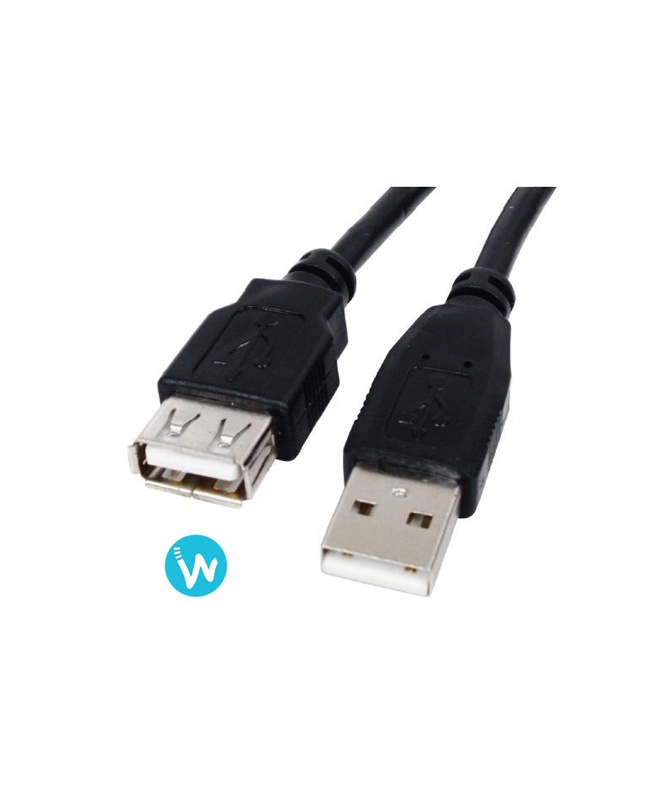 Rallonge USB 1.8m